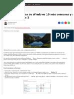 Los 11 problemas de Windows 10 más comunes y su solución  Tecnología - ComputerHoy.com.pdf