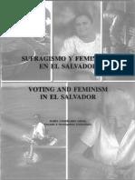 Sufragismo y Feminismo en El Salvador (1)