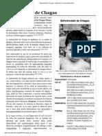 Enfermedad de Chagas - Wikipedia, la enciclopedia libre.pdf