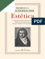Schleiermacher, Friedrich D.E. - Estética