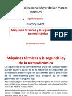 Semana 5 Maquinas Termicas y Segunda Ley de La Termodinamica