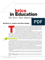 Rubrics in Education1