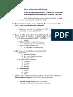 Examen de Circuitos y Mecanismos Eléctricos- Pregunta