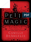 Petty Magic by Camille DeAngelis - Excerpt With Bonus Content