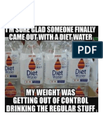 Oh Wow Finally Diet Water
