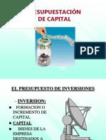 Presupuestación de Capital