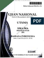 Usbn Bahasa Indonesia 2016