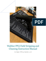 Walther PPQ Field Stripping and Cleaning Instruction Manual