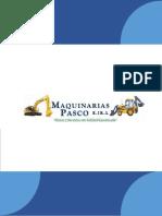 Brochure Maquinarias Pasco e.i.r.l