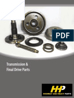 Caterpillar Transmission Final Drive Parts