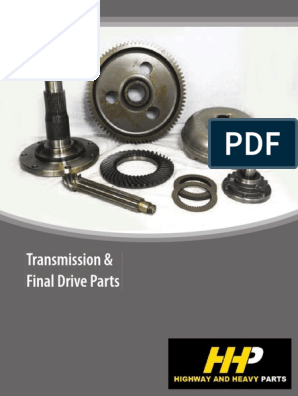 Caterpillar Transmission Final Drive Parts