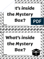 whats inside the mystery box