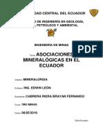 Asociaciones Mineralógicas_cabrera Brayan
