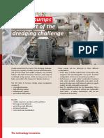 D1 Dredge Pumps Product Sheet