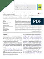 Experimental Gerontology Volume issue 2013 [doi 10.1016%2Fj.exger.2013.07.012] Wit, Janneke; Kristensen, Torsten Nygaard; Sarup, Pernille; Fryd -- Laboratory selection for increased longevity in Droso.pdf