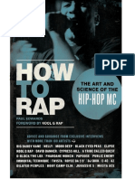 How To Rap The Art And Science Of The Hip-Hop ES