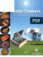 SOLAR COOKERS - How to make, use and enjoy