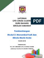 Laporan Cpd Cross Cluster Sk Ladang Pendas
