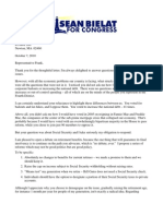 2010-10-07 SS Letter to Barney Frank