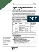 Medidor de Consumo ION6200