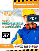 Revista El Prevencionista Edición 37