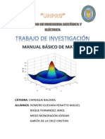 Trabajo de Investigación Matlab Chiroque