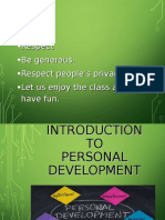 1. Introduction to Personal Development