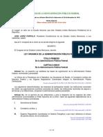Ley Organica de la Administracion Publica Federal.pdf