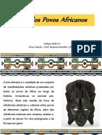 6ano Arte Africana