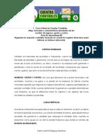 Guía de Aprendizaje 1 - Taller de Conceptos y Cuentas - Curso de Cuentas Contables