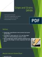 Crops and Grains Dryer