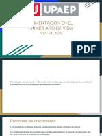Alimentación en El Primer Año de Vida Nutrición