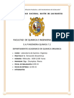 Informe de Organcia n°4