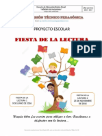 Plan de Actividades, Fiesta de la lectura.pdf