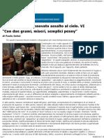 """Paolo Selmi_ """"Con Due Grami, Miseri, Semplici Penny"""" VI"""