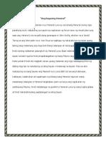 Ang Bayaning Heneral- Journal Add