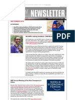 2010 September Newsletter