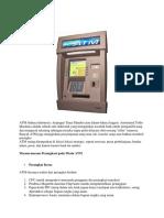 Pengertian Mesin ATM
