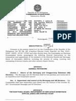 COMELEC Resolution No. 10211