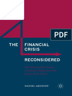 Aronoff - The Financial Crisis Reconsidered; The Mercantilist Origins of Secular Stagnation and Boom-Bust Cycles (2016)