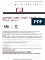 Hyperbaric Oxygen Therapy Exploring the Clinical.8