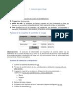 Evaluación y Recomendciones Héctor Sánchez Ambrosio