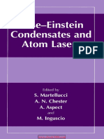 Bose-Einstein_Condensates and Atom Lasers