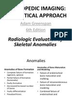 7. Radiologic Evaluation of Skeletal Anomalies