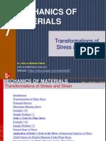 Ch7 Stress Transformations