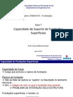 Aula 7 - Capacidade Suporte Fundações Superficiais.pdf