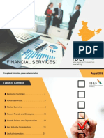 Financial Services August 2018