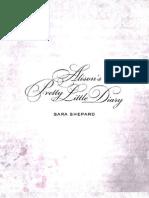 Alison's Pretty Little Diary