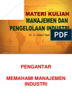 1. Manajemen Industri (Minggu I).ppt