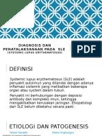 Diagnosis dan penatalaksanaan pada  SLE.pptx